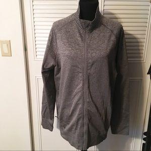 NWOT Lululemon gray long sleeve zip up jacket